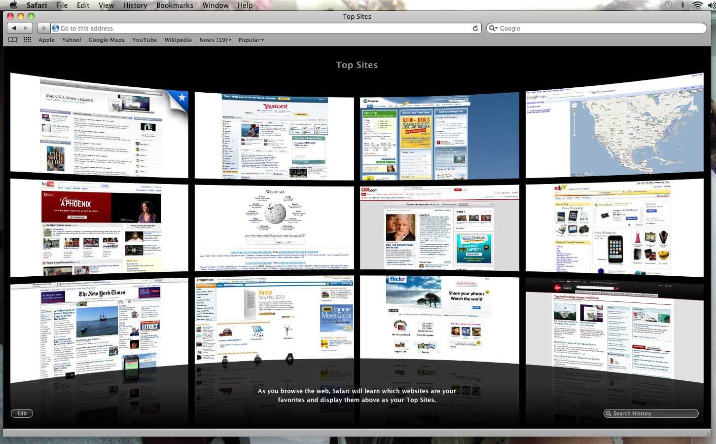 Apple Safari Web Browser for Mac