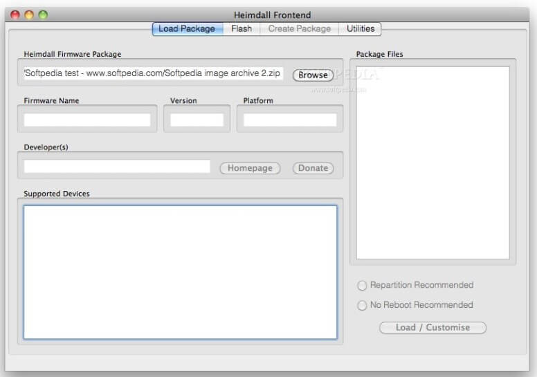 Heimdall for Mac is an alternative for Odin