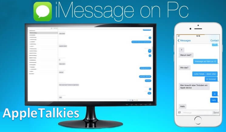 Using iMessage for PC Windows