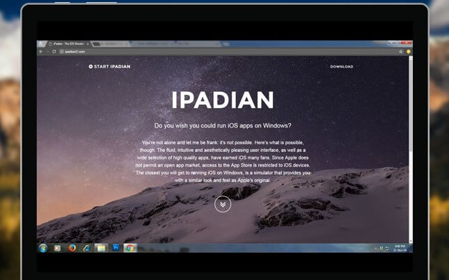 Use iPandian for iMessage on PC