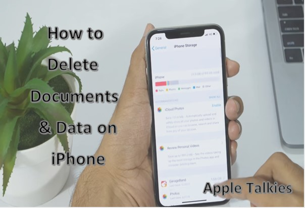 Documents and Data on iPhone