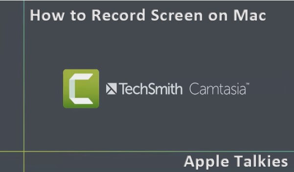You can use Camtasia to record screen on macbook