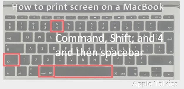 capture screen in a separate window in macbook