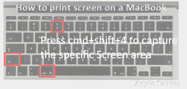 print screen the specific area of screen