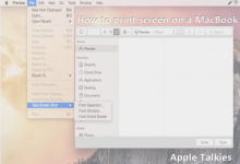 Photo of How to print screen on a mac – Learn How to take Screenshot on MacBook