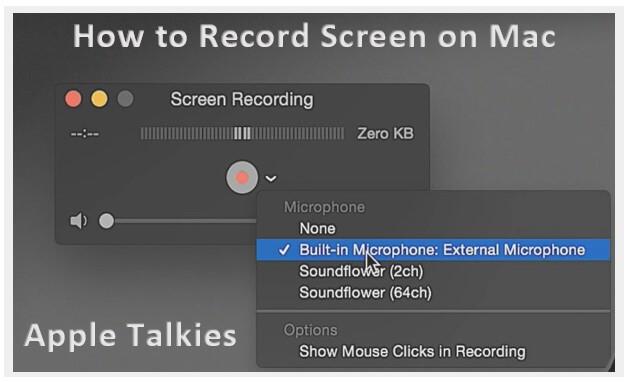 video screen capture mac