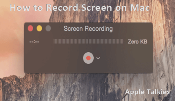 Click the record button to start recording